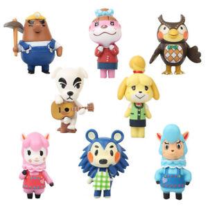 Animal Crossing Celeste KK Slider Isabelle 8PCS Action Figure Kids Toy Doll Gift