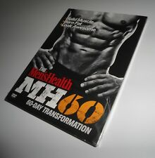 Men's Health MH60 60-Day Transformation Workout David Jack (4 DVD Set NEW) HH 60