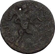 TREBONIANUS GALLUS 251AD Pisidia Cremna APOLLO w BOW Ancient Roman Coin i50261