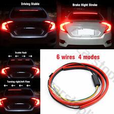 "40"" LED Roofline 3rd High Brake Light Strip Rear Windshield Stop Flow Signal Red"