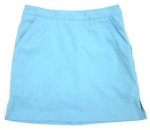 Greg Norman Perfect Fit Sky Blue Golf Skorts Size 4