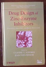 Drug Design of Zinc-Enzyme Inhibitors: Functional, Structural, and Disease app.