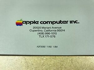 MINT - Apple II IIe version Personal Computer System 16 pages brochure 11/1982