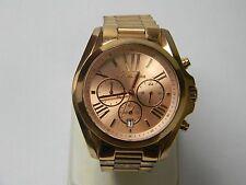 Oversized Bradshaw Rose Gold-Tone Watch MK 5503