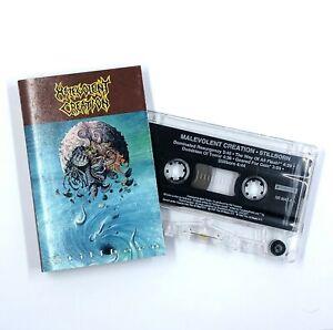 MALEVOLENT CREATION Stillborn Cassette Tape 1993 Death Metal Rare #2