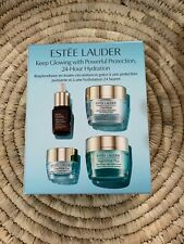 NIB Estee Lauder Protect & Hydrate Skincare Set, Day-Night- eye wear &Advanced