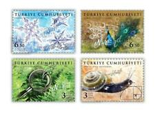 TURKEY / 2020 - Fractal Nature Reflections (Snail, Plant, Peacock, Snow), MNH