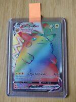 Pokemon Vivid Voltage Pikachu Vmax 188/185 Rainbow Rare Mint Pack Fresh PSA