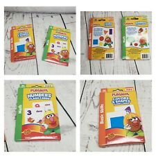 Playskool Colors & Shapes Numbers Flash Cards PreK-K Basic Skills (36 Cards)