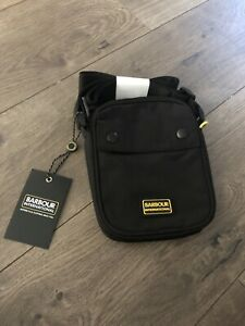 New Barbour Small Crossbody Ripstop Military Pack EDC Bag Black