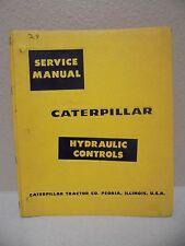 Caterpillar Cat D9 Crawler Tractor 193 Hydraulic Controls Service Repair Manual