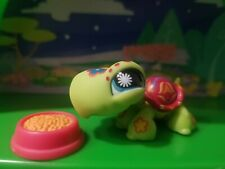 Littlest Pet Shop Turtle Tattoo Green Blue Eyes Postcard #1009 Authentic Lps