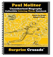 Paul Molitor Baseball Card Sports Trading Card Notebook AUTHOR AUTOGRAPHED