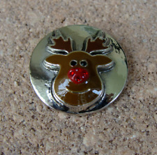 "Ginger Snapsâ""¢ Jewelry Mr. Reindeer Sn19-32 Buy 4, Get 5Th $6.95 Snap Free"