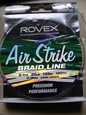 Rovex Air Strike Braid Fishing Line - 20lb 150yds - 9.1kg 135m