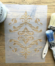 Vintage Damask Stencil, Damask Stencil,  French Stencil, Damask Wall Art, Decal