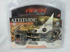 Apex Gear Attitude Micro adjust 5 pin compound bow sight Mathews Lost XD camo