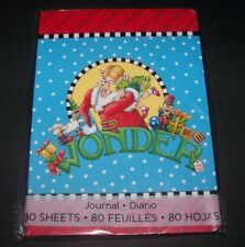 Mary Engelbreit Christmas Journal (80 sheets) Wonder! New #67