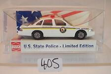 Busch 1/87 Nr. 49079 Ford Crown Victoria U.S. State Police N. Dakota OVP #405