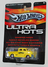 Hot Wheels ULTRA HOTS '50s CHEVY TRUCK YELLOW REAL RIDERS 1:64