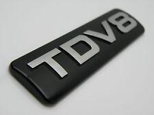 Range Rover Sport Negro Y Cromo tdv8 Trasero posterior arranque Insignia Vogue Descubrimiento