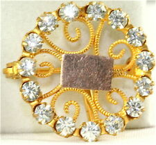 Victorian Antique Watch Chatelaine Pin