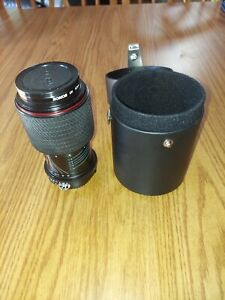 Tokina SD 70-210mm Lens For Nikon With Caps And Case