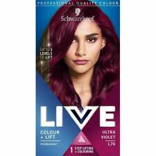 Schwarzkopf LIVE Intense Pro Permanent Hair Colour Dye - All Shades