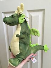 Green Dragon Unipak Sculpted Fabric 11 inch Soft Stuffed Plush Animal UP2711GN