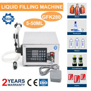 Liquid Filling Machine Pump Filler Bottle Filler 5-3500ml Digital Control 3500ML