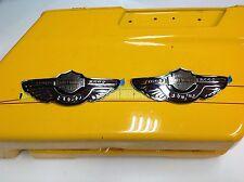 Very Rare OEM Harley 2003 100th Anniversary Gas Fuel Tank Emblems Badges emblems