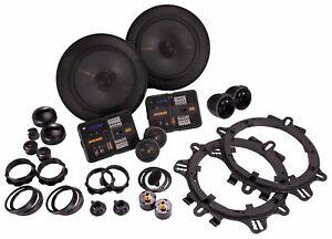 "Kicker 47KSS6504 6.5"" 125 Watt Car Audio Component Speakers Pair KSS650"