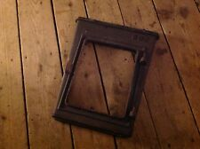 Jøtul Jotul 602 Wood Stove Front Door Frame Panel Black Metal