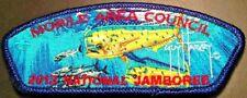 2013 SCOUT Jamboree MOBILE AREA COUNCIL AL 322 OA MAHI PATCH GUY HARVEY DELEGATE