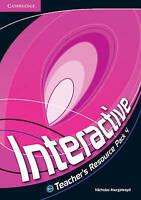 Interactive Level 4 Teacher's Resource Pack by Murgatroyd, Nicholas (Spiral boun