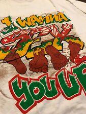 Vintage 1991 Color Me Badd I Wanna Sex You Up Graphic Rap Tee Shirt Sz XL