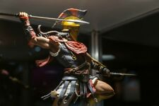 ASSASSINS CREED ODYSSEY:THE SPARTAN  LEAP ALEXIOS STATUE 39.5CM UBI COLLECTIBLE