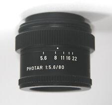 LEITZ PHOTAR 80 mm 1:5 .6 microscopio/LA FOTOGRAFIA MACRO LENS/Obiettivo-OTTIMO