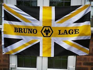 Bruno Lage Wolves Flag 5 X 3 Feet