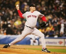 Curt Schilling Boston Red Sox UNSIGNED 8x10 PHOTO (A)
