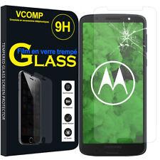 """1 Film Verre Trempe Protecteur Protection pour Motorola Moto G6 Plus 5.9"""""""