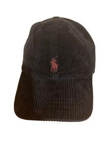 polo ralph lauren bucket hat Corduroy Small  Pony Boys  8-20 Navy