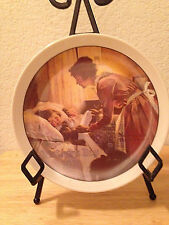 Norman Rockwell Knowles Limited Edition Certified Mother's Day Plate Dated 1976