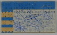 Nazareth Autograph Signed Concert Ticket JSA COA