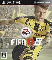 USED PS3 PlayStation 3 FIFA 17 22387 JAPAN IMPORT