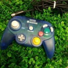 HORI Nintendo GameCube Controller Pad Clear Blue GC Switch Wii Tight Stick Used