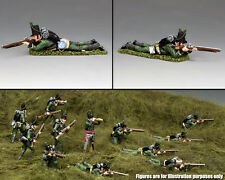 KING & COUNTRY THE AGE OF NAPOLEON NA379 95TH RIFLES PRONE FIRING RIFLEMAN MIB