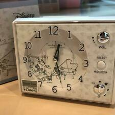 Mickey Mouse Minnie Mouse Voice Alarm Clock 13.5 cm Disney Seiko From Japan Mint
