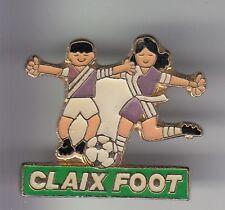 RARE PINS PIN'S .. FOOTBALL SOCCER CLUB TEAM FOOT JEUNESSE JUNIOR CLAIX 38 ~DG