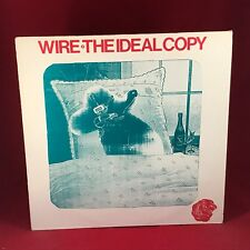 WIRE The Ideal Copy 1987 UK vinyl LP + INNER EXCELLENT CONDITION